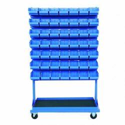 Stojak narzędziowy z 14 listwami na 98 pojemników P3 (dwustronny) P-5-04-02 (5904054401354)