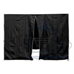 Komplet dwóch ścian do pawilonu PROFI 3 x 3 m - czarny (4025327362491)