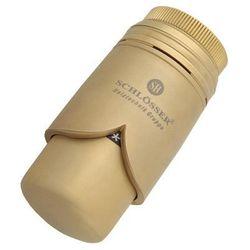 600200006 Głowica SH Brillant złoto mat (zawór i głowica ogrzewania)