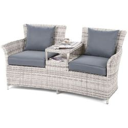 Home & garden Sofa ogrodowa milos light grey / grey