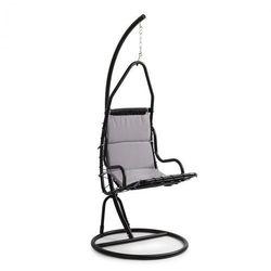 Blumfeldt Serramazzoni EggChair, Fotel wiszący, poduszka na siedzisko, szary (4060656151781)
