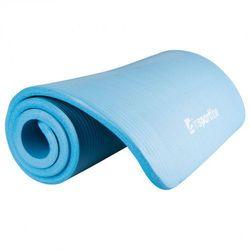 Mata do ćwiczeń inSPORTline Fity Gruba i miękka 1,5 cm - Kolor Niebieski - sprawdź w wybranym sklepie