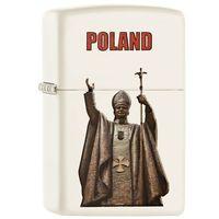 Zapalniczka ZIPPO Polska - Jan Paweł II, White Matte (60002131) z kategorii Zapalniczki