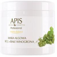 Apis  vitamin balance maska algowa z witaminą c i białymi winogronami (51295)