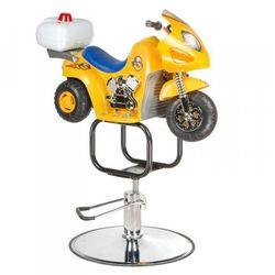 Dziecięcy Fotel Fryzjerski Motor Żółty BW-604 - sprawdź w wybranym sklepie