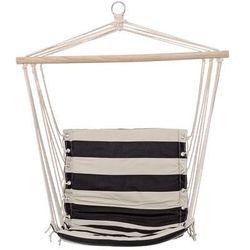 Hamak - fotel wiszący - czarne paski - Bloomingville