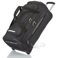 Torba podróżna na kółkach Travelite Crosslite M - czarny z kategorii Torby i walizki