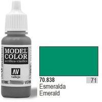 Vallejo  farba nr71 emerald matt 17ml, kategoria: farby modelarskie