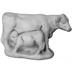 Figura ogrodowa betonowa krowa z cielakiem 32cm