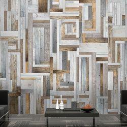 Fototapeta - drewniany labirynt marki Artgeist