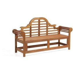 Drewniana ławka ogrodowa 180 cm JAVA Marlboro (7081454527476)