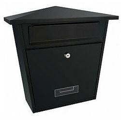 Perel skrzynka pocztowa - sydney - czarna (5411244210202)