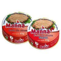 Manná Zestaw 2 portugalska pasta z tuńczyka 6x65g