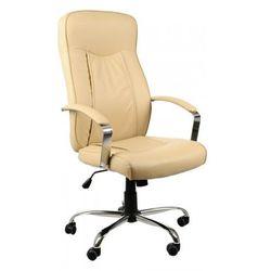 Stema - zh Fotel biurowy gabinetowy zh-9152/t/pu/beż
