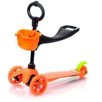 HULAJNOGA TRÓJKOŁOWA METEOR Three-wheel + pomarańczowa