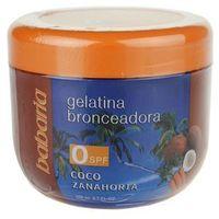 Babaria Sun Bronceador żelatyna wspomagająca opalanie z kokosem i marchewką (Tanning Cream) 200 ml