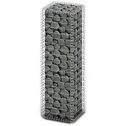 vidaXL Kosz gabionowy z ocynkowanego drutu stalowego 100 x 30 cm (8718475875529)