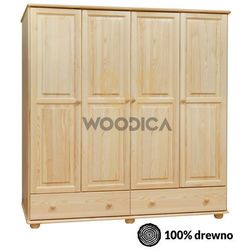 Woodica 11.szafa 4d2s 200x190x60