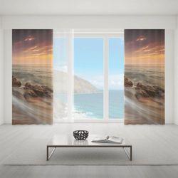 Zasłona okienna na wymiar - BEAUFITUL BEACH