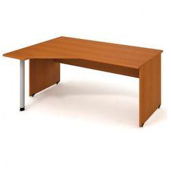 Stół ergo prawy, 1800 x 1200 x 755 mm, czereśnia