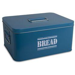 Metalowy chlebak Bread dark blue, 170424370DB