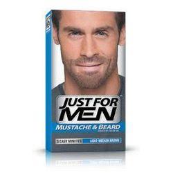 Just for men  m-30 jasny-średni brąz odsiwiacz, żel broda,wąsy,baki 2x14,2g, kategoria: stylizacja włosó