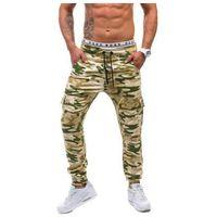 Spodnie joggery bojówki męskie moro-beżowe denley 0404 marki Athletic