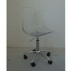 Krzesło obrotowe Grenada transparentne