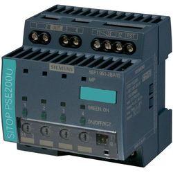 Zasilacz na szynę Siemens SITOP PSE 200U, 4 x 10 A, 24 V/DC z kategorii Transformatory