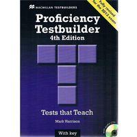 Proficiency testbuilder with key with audio CDs
