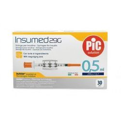 Astrana s.p. a. Strzykawki insulinowe insumed 0,5ml g29x12,7mm (30szt.)