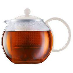 - zaparzacz do herbaty assam, biały - 1.00 l - biały marki Bodum