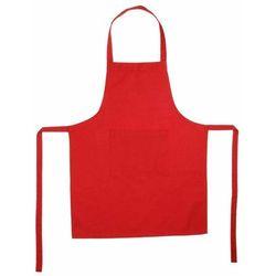 Fartuch kuchenny w kolorze czerwonym, 60x80 cm