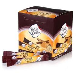 Krajowa spółka cukrowa s.a. Cukier brązowy trzcinowy stick demerara 100x5 g.