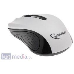 Mysz Gembird Optyczna 1-Scroll White (USB)(MUS-101-W)