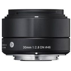 Obiektyw SIGMA Digital A 30/2.8 DN Micro 4/3 (MFT) Czarny + DARMOWY TRANSPORT! + Zamów z DOSTAWĄ JUT