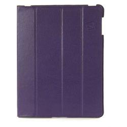 ipdco23-pp - cornice etui ze skóry ekologicznej na new ipad - fiolet, marki Tucano