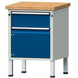Anke werkbänke - anton kessel Kompaktowy stół warsztatowy, blat z litego drewna bukowego,szer. x głęb. 60