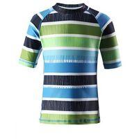 Koszulka Reima kąpielowa Fiji UV niebieska/paski (ocean blue) z kategorii Pozostała moda i styl