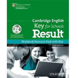 Cambridge English: Key for Schools Result Workbook Resource Pack with Key (ISBN 9780194817592)