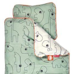 Pościel dla dzieci Contour (135x100 + 40x60) - zielona