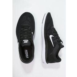 Nike Performance FLEX 2016 RUN Obuwie do biegania startowe black/white/cool grey - produkt dostępny w Zalando