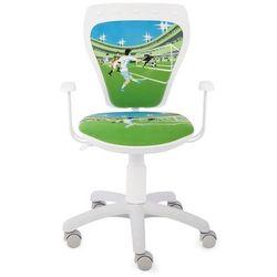 Obrotowe krzesło dziecięce MINISTYLE WHITE - Laliga