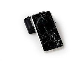 Etuo.pl Fantastic case - asus zenfone zoom - etui na telefon fantastic case - czarny marmur