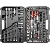 Yato Zestaw narzędziowy  yt-38801 xl (120 elementów) (5906083388019)