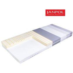 JANPOL DAINO - materac piankowy, Rozmiar - 120x200, Pokrowiec - Jersey Standard WYPRZEDAŻ, WYSYŁKA GRATIS