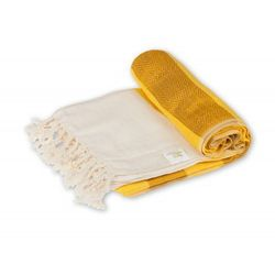 Sauna Łażnia - Hammam Ręcznik 100% Bawełna Anatolian 5 Żółty, 2C7B-68067_20171024211503