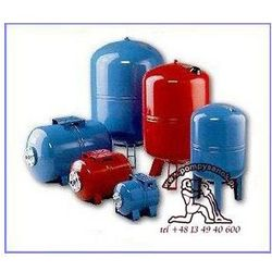 Zbiornik hydroforowy przeponowy 50L AQUASYSTEM, Zbiornik hydroforowy 50L