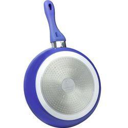 28cm patelnia z powłoką ceramiczną / rl-bf28c blue / 01-052 marki Royalty line