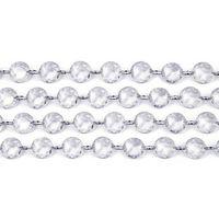Ap Girlanda kryształowa - bezbarwna - 1 m - 1 szt. (5901157430724)
